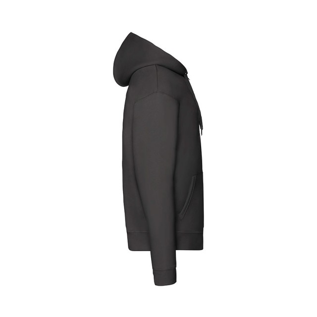 Толстовка PREMIUM HOODED SWEAT JACKET 280, черный