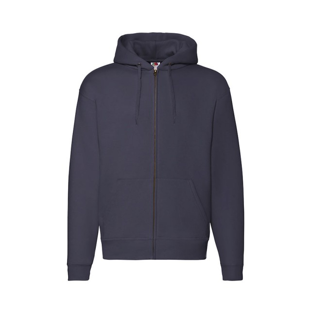 Толстовка PREMIUM HOODED SWEAT JACKET 260, темно-синий
